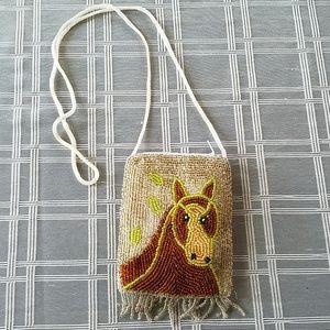 Horse Beaded Bag by Edona